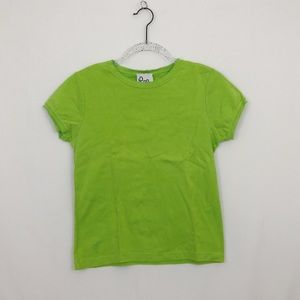 Lilly Pulitzer | lime green basic tee /T-shirt